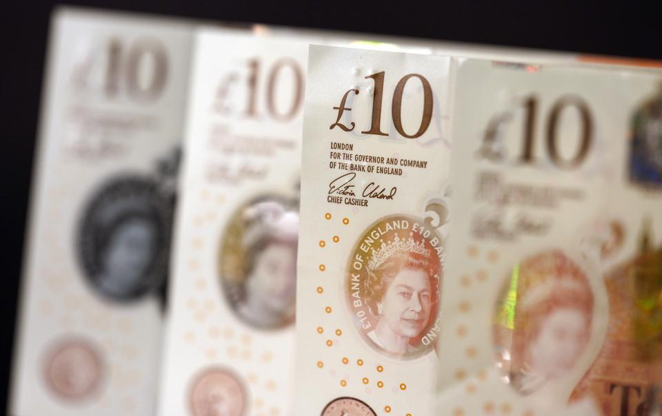 Sterling Surges Higher Amid Poll Support Buoys Boris