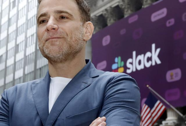 Slack's Stock Pops And Makes CEO A Billionaire In Unusual Market Debut