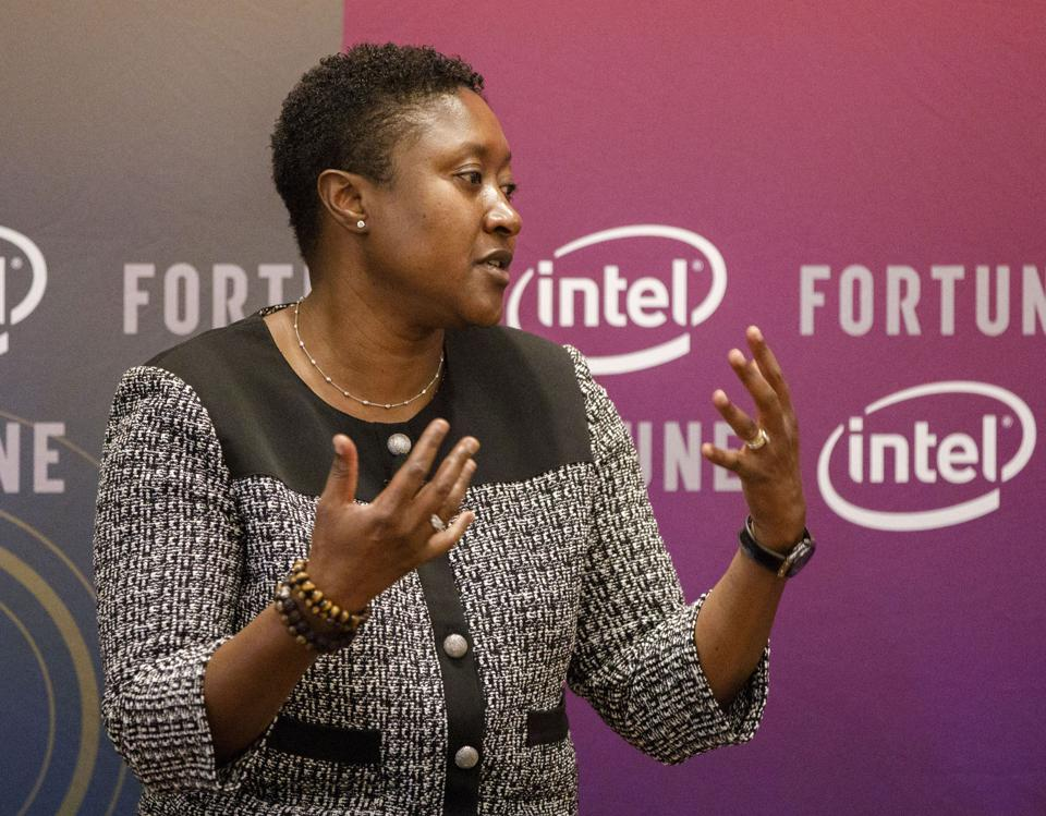Aicha Evans, formerly Intel's senior vice president and chief strategy officer, will become CEO of self-driving car startup Zoox in late February 2019.