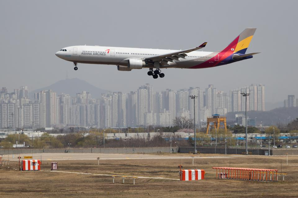 Banned 20 Minutes After Departure, Asiana Airlines Flight Returns To Seoul Over Vietnam's Coronavirus Fears