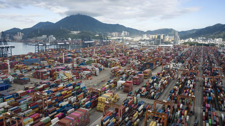 Container Terminal in Shenzhen, China