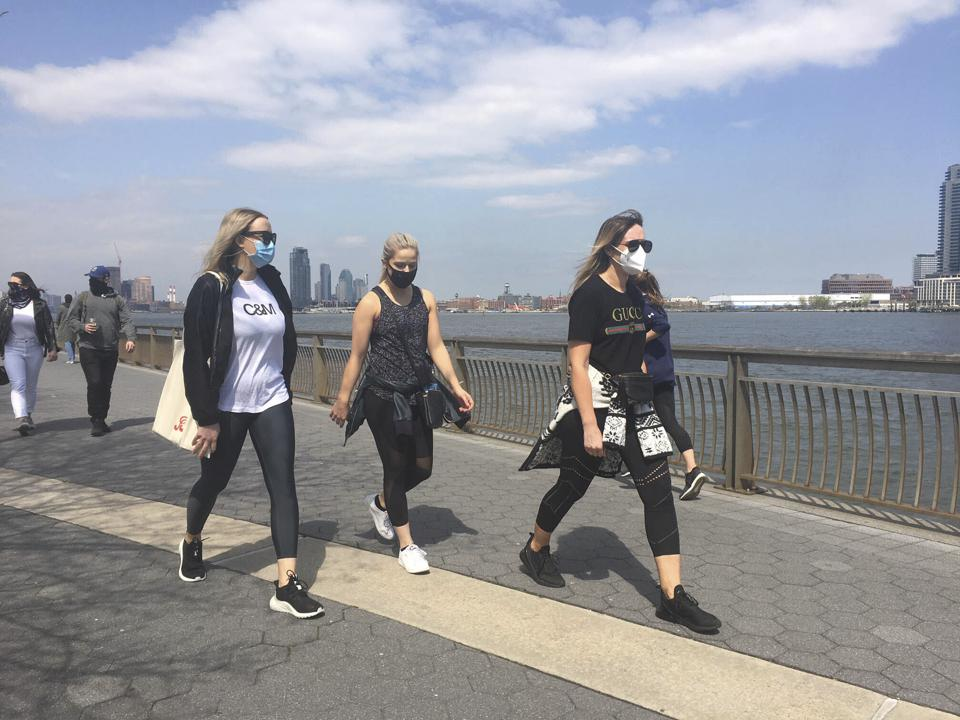The weather report said it was warm and sunny outside, so many people went for a walk during the coronavirus pandemic lockdown in New York City last month. The pandemic threatens the quality and quantity of future weather reports, a United Nations agency says.