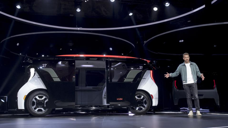 Spoiler Alert: Three Key Ways That The New And Electrifying GM-Backed Cruise Self-Driving Car Minivan Might Have Some Heartburn