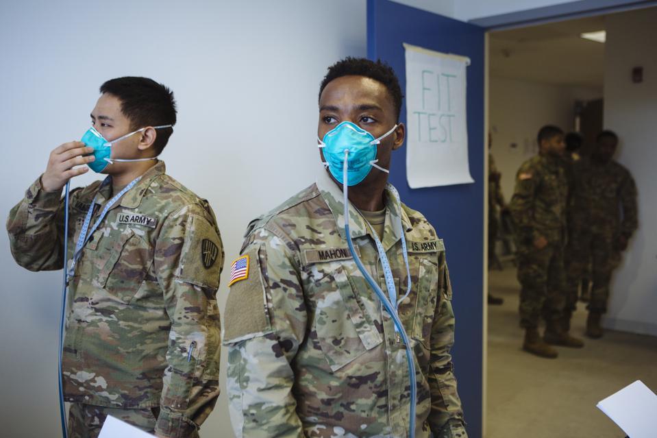 N95 masks, 3M, coronavirus, COVID-19