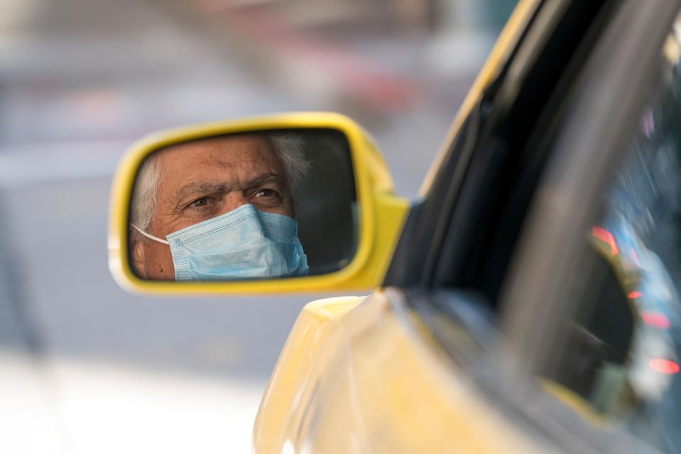 SAN FRANCISCO VIRUS UBER LYFT TAXI DRIVERS