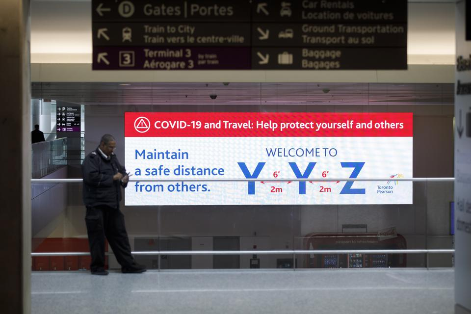 Update Canadian Airlines Suspend International Flights And Reduce Domestic Travel Due To Coronavirus