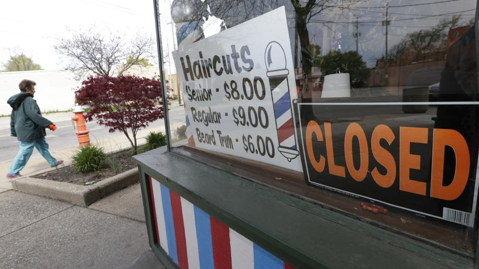 Millions of small businesses like this barber shop are receiving Paycheck Protection Program loans.