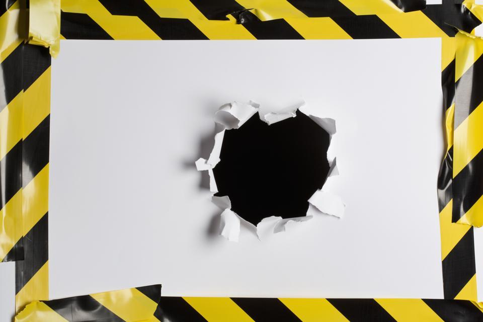 Caution tape: NPS score no nos