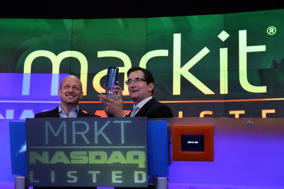 Financial Information Services Company Markit Goes Public On NASDAQ Exchange
