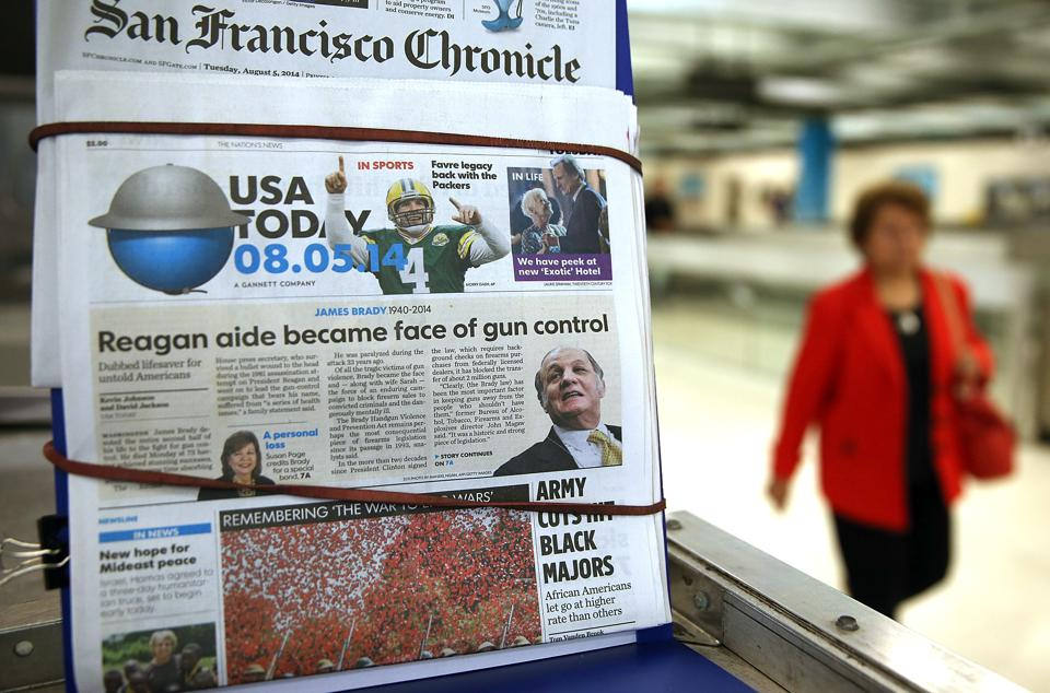 Gannett To Spin Off Publishing Business From Broadcast-Digital Business