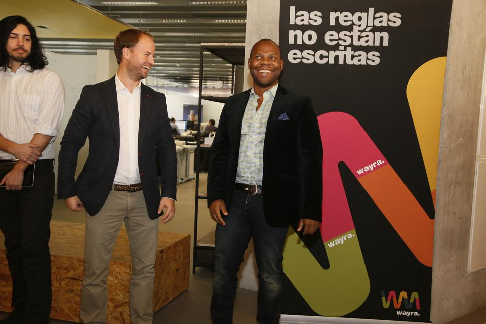 Prince Felipe of Spain Visits Telefonica I+D Headquarters in Barcelona