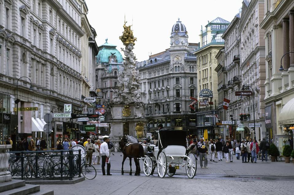 Austria, Vienna, Graben, Street Scene...