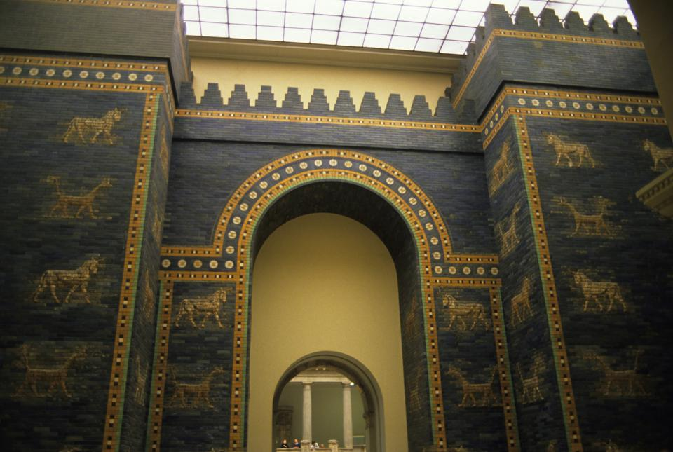 Germany, East Berlin, Pergamon Museum, Ishtar Gate From...