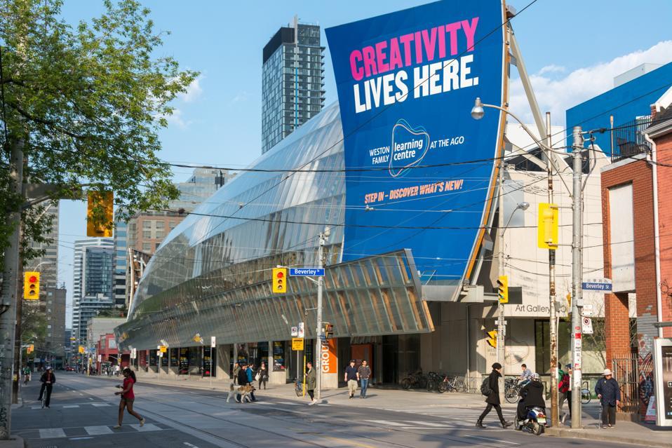 The Art Gallery of Ontario is an art museum in Toronto's...
