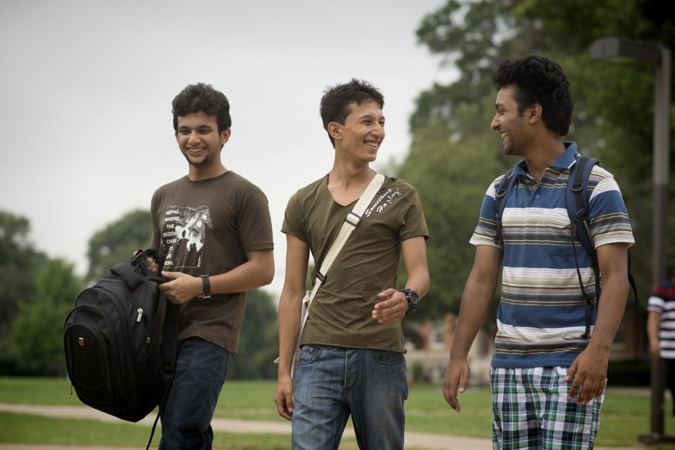 Nepalese students at Howard University