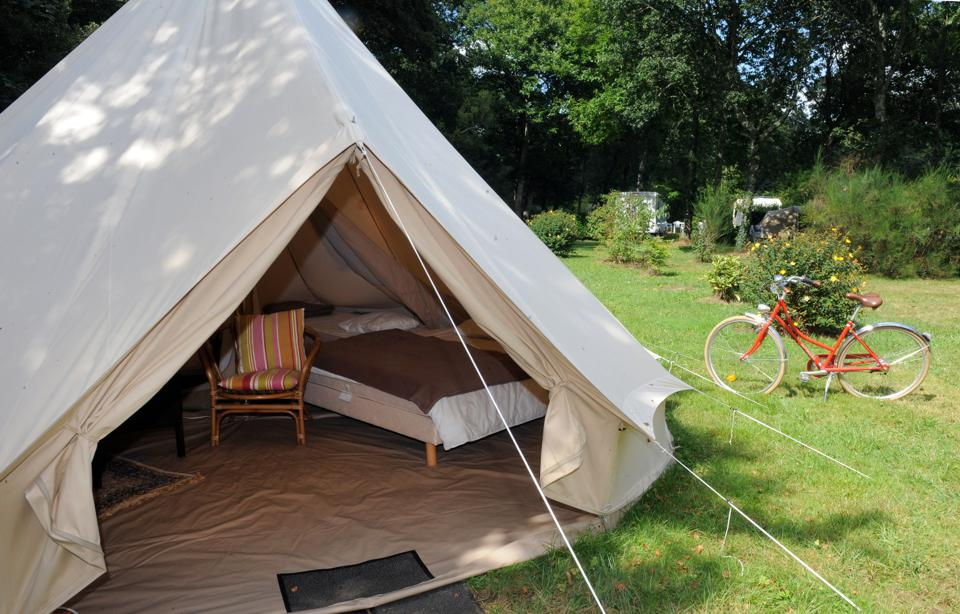 The Boom In Posh Camping; People Want Wilderness Combined With Creature Comforts