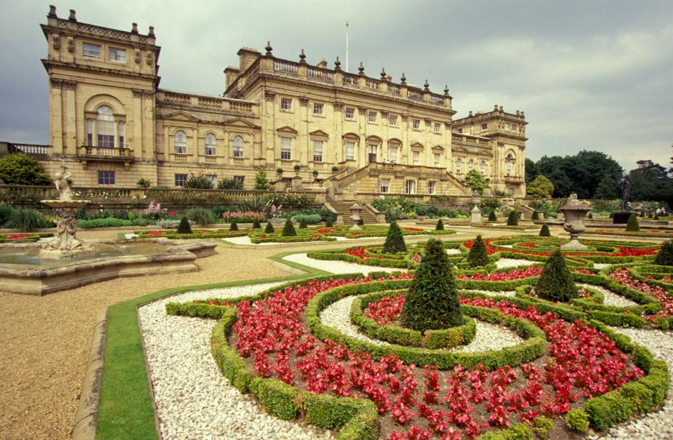 England, Yorkshire, Harewood House, Home Of Queens Cousin