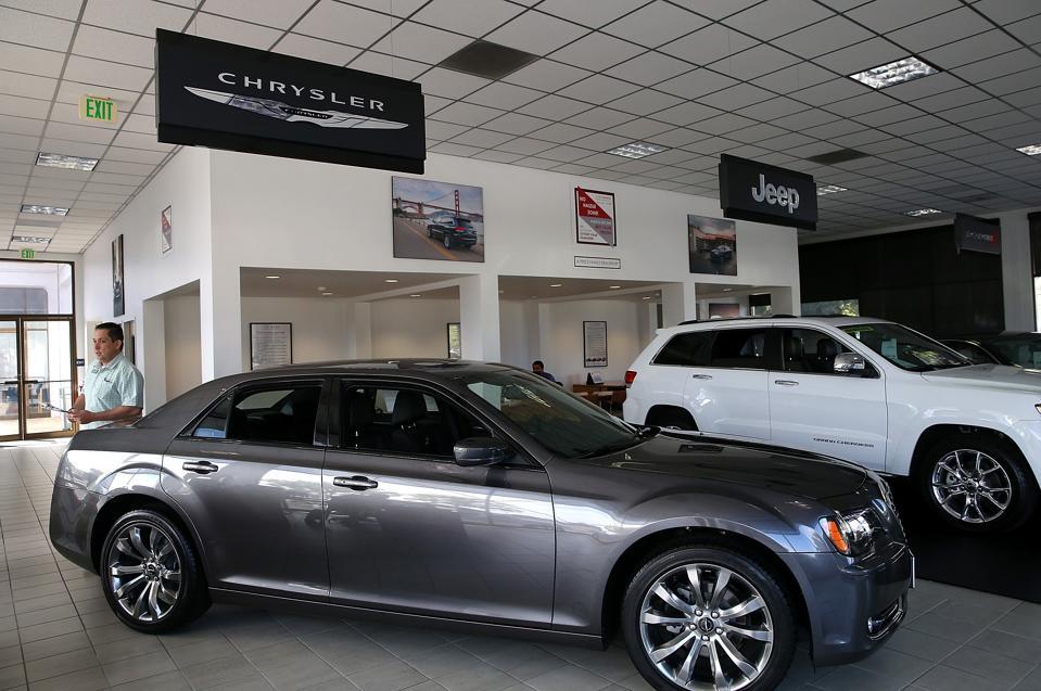 Chrysler showroom