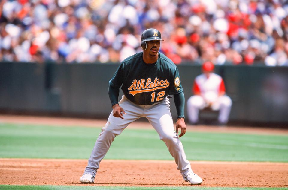 Oakland Athletics v Anaheim Angels