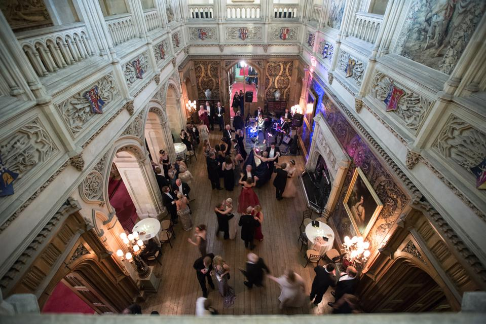 Annual Queen Charlotte's Debutante Ball at Highclere Castle, home to Downton Abbey