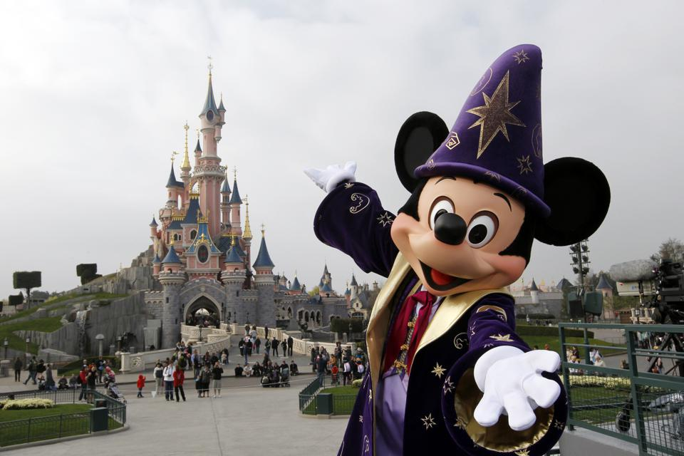 DIsneyland Paris is famous for its fantasy but its economic impact is very real (THOMAS SAMSON/AFP/Getty Images)