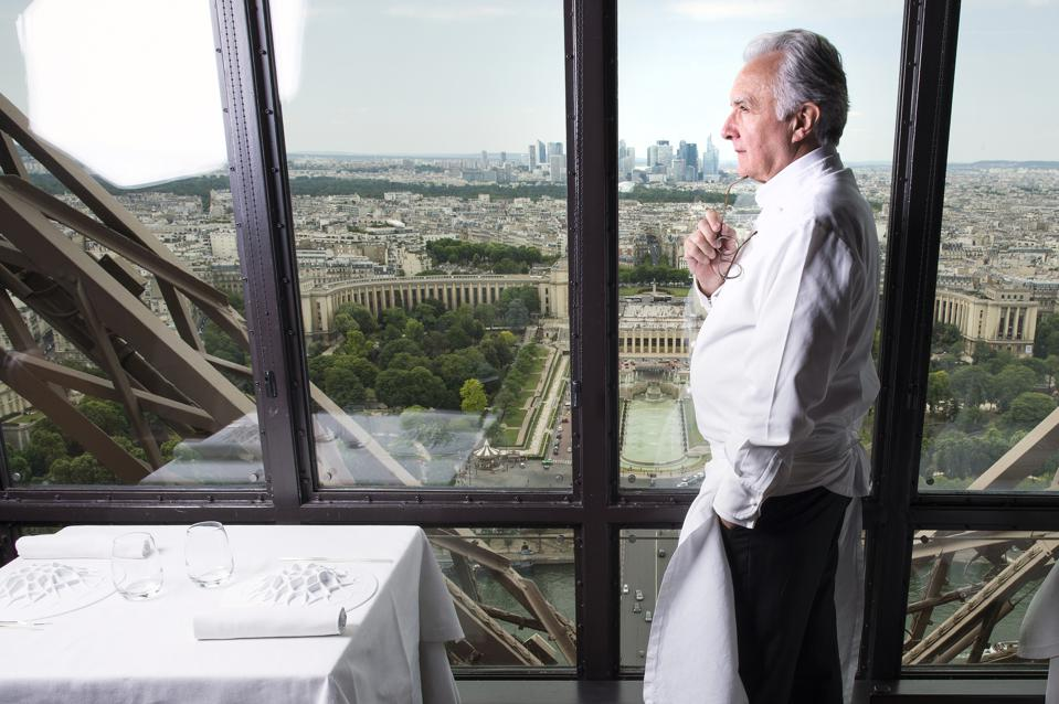 EIFFEL TOWER, paris, fine dining, Alain Ducasse, luxury goods