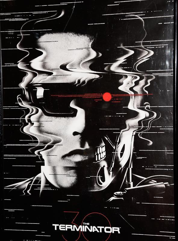 ″The Terminator″ movie poster