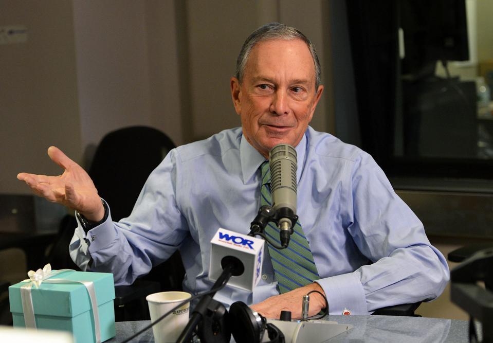 Former New York Mayor Mike Bloomberg