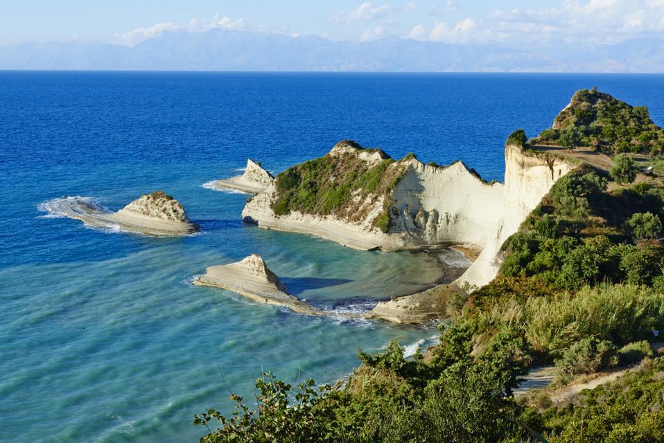 Greece, Corfu island, Drastis Cape