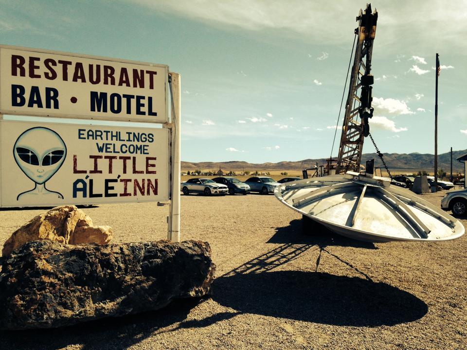 No mans land : Get alienated on Nevadas E.T. Highway