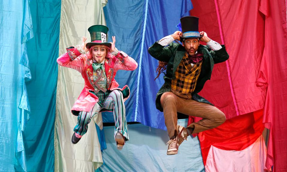 Royal Ballet: Hip Hop Vs Ballet: 2 Mad Hatters Dance Off Photocall