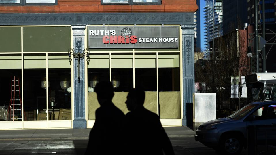 New construction of restaurants in Denver.