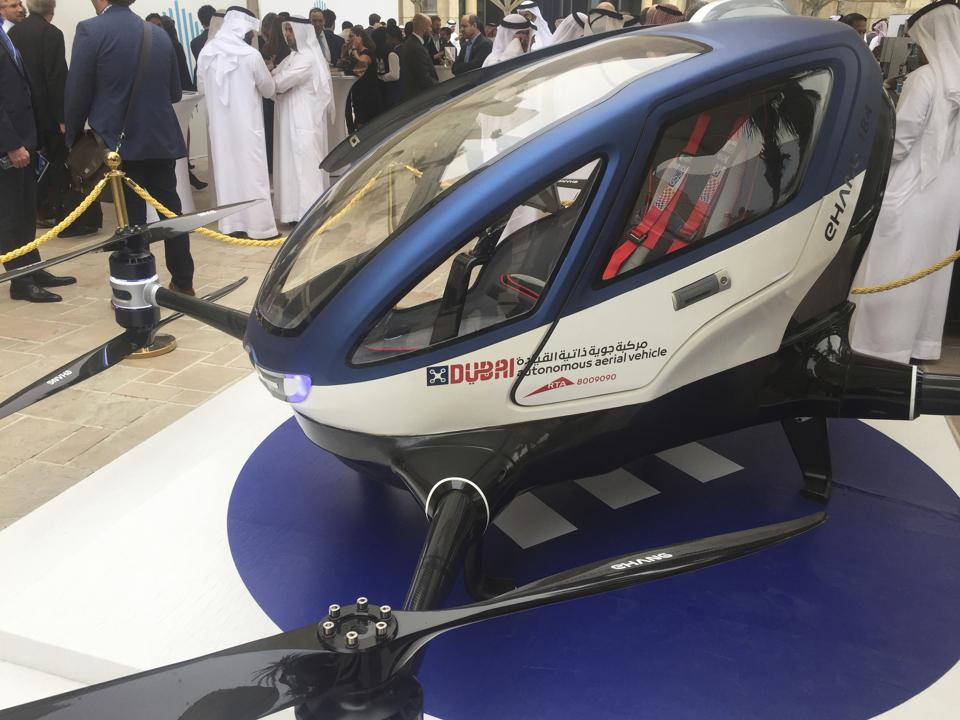 Dubai To Put Autonomous Taxi Drones In The Skies 'This Summer'