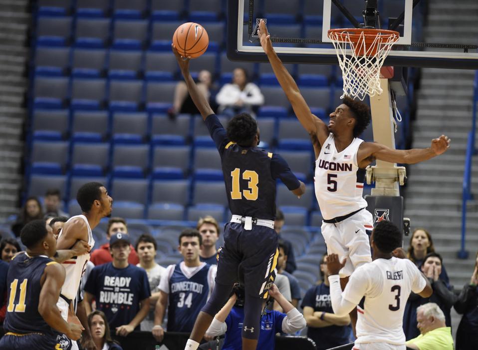 Merrimack UConn Basketball