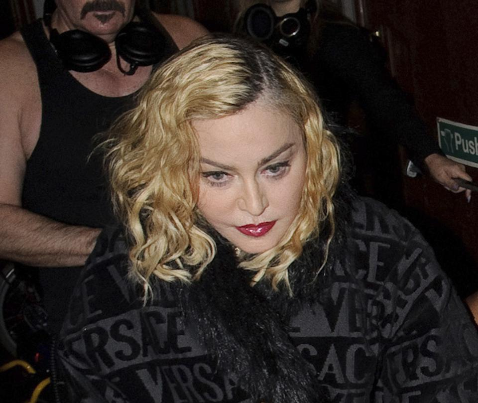 Madonna is seen in London, England, UK - 1/29/20