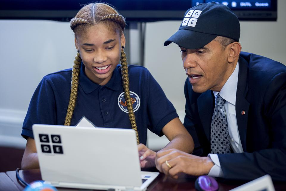 President Obama Wants Every Kid To Learn Coding--For All The Wrong Reasons