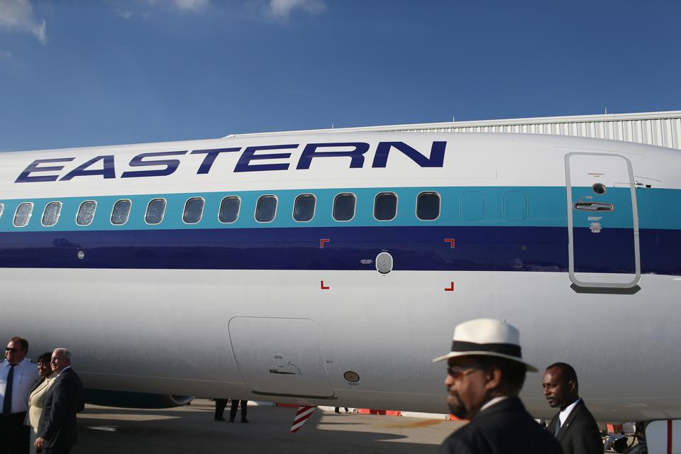 Eastern Air Lines Returns To Miami