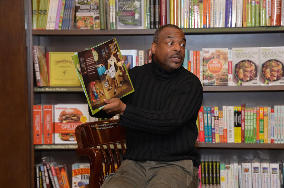LeVar Burton Book Signing For ″The Rhino Who Swallowed A Storm″