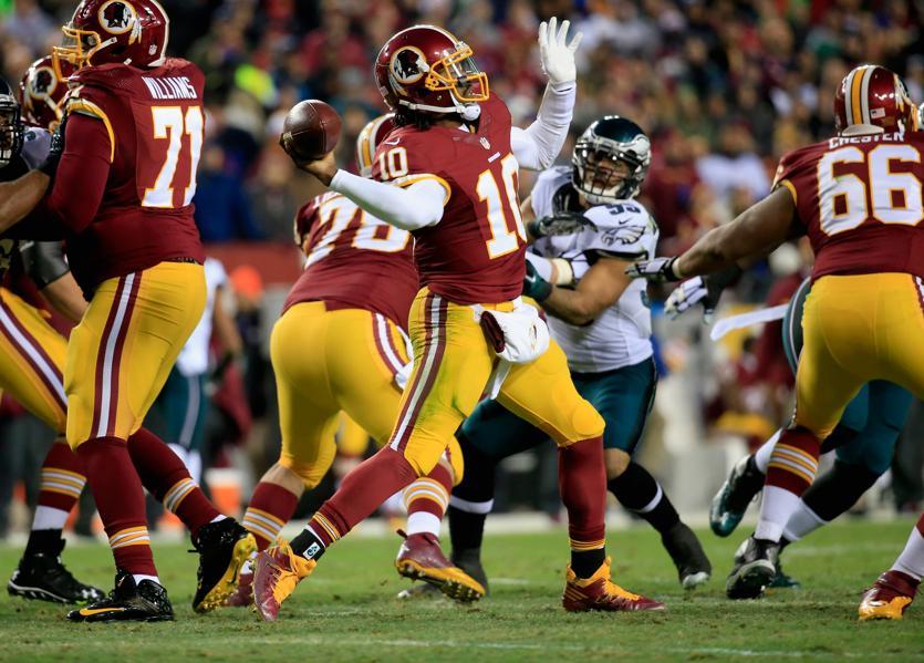 9. Washington Redskins