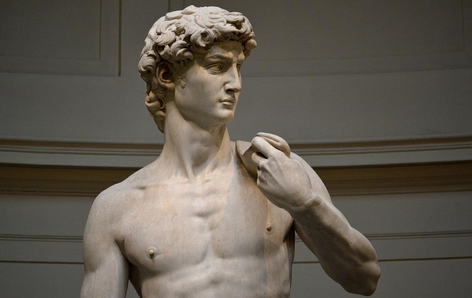 ITALY-ART-STATUE-MICHELANGELO-DAVID