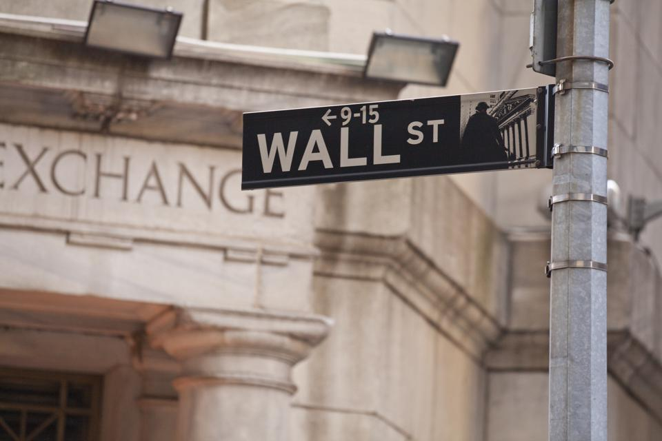 Wall Street in New York City