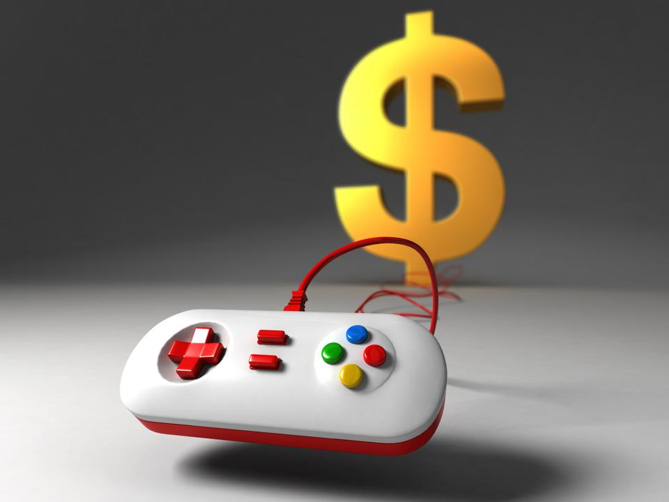 video game consoles and US dollars