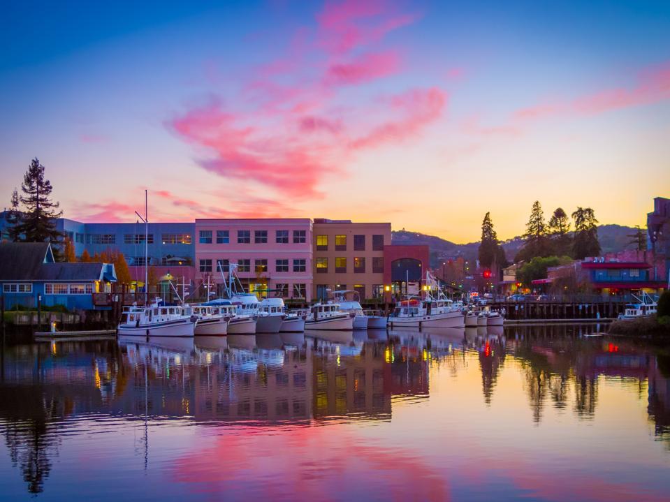 Petaluma Harbor Reflections