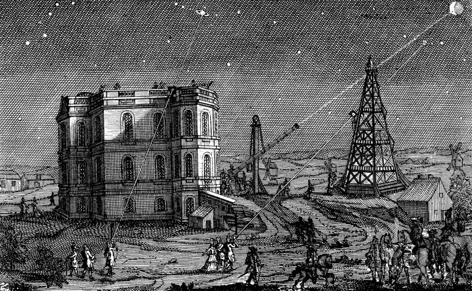 Paris Observatory, France, 1740.