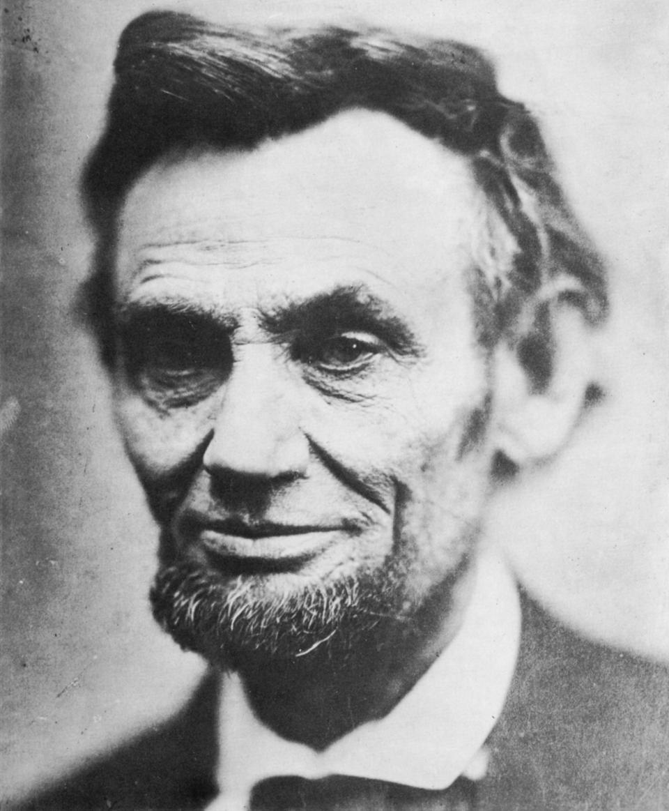 Last photograph of Abraham Lincoln, (1809-1865), April 1865. The Architect Leader.