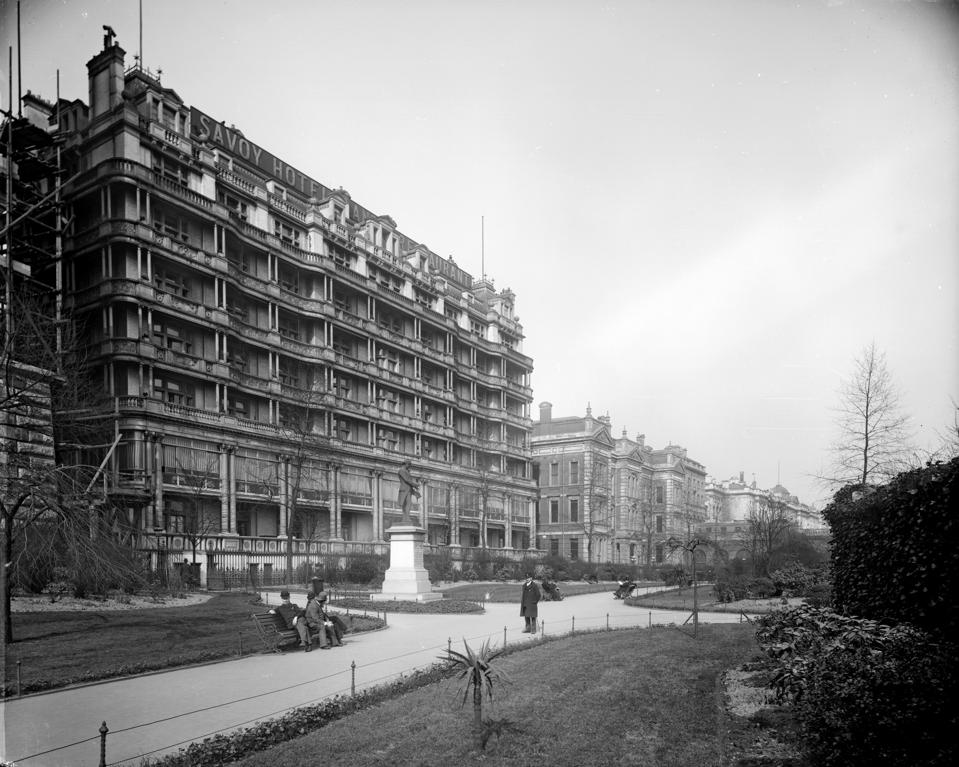 The Savoy Hotel, London, 1893. Artist: Bedford Lemere and Company