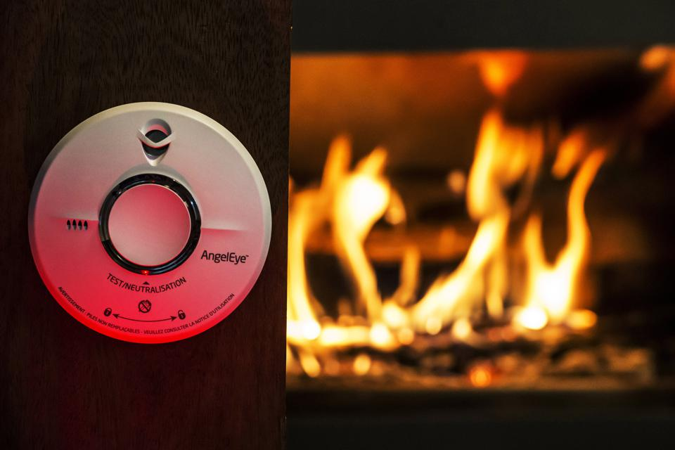 Smoke detectors help prevent deaths from home fires.