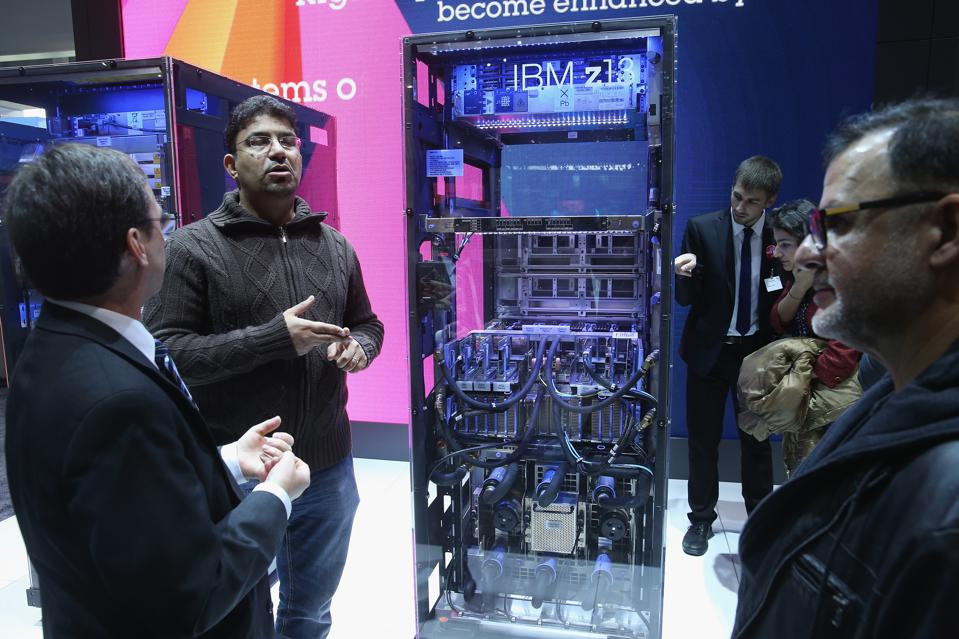 IBM's New Cyberframe Is The World's Most Secure Server For Data Centers, Cloud And Mobile