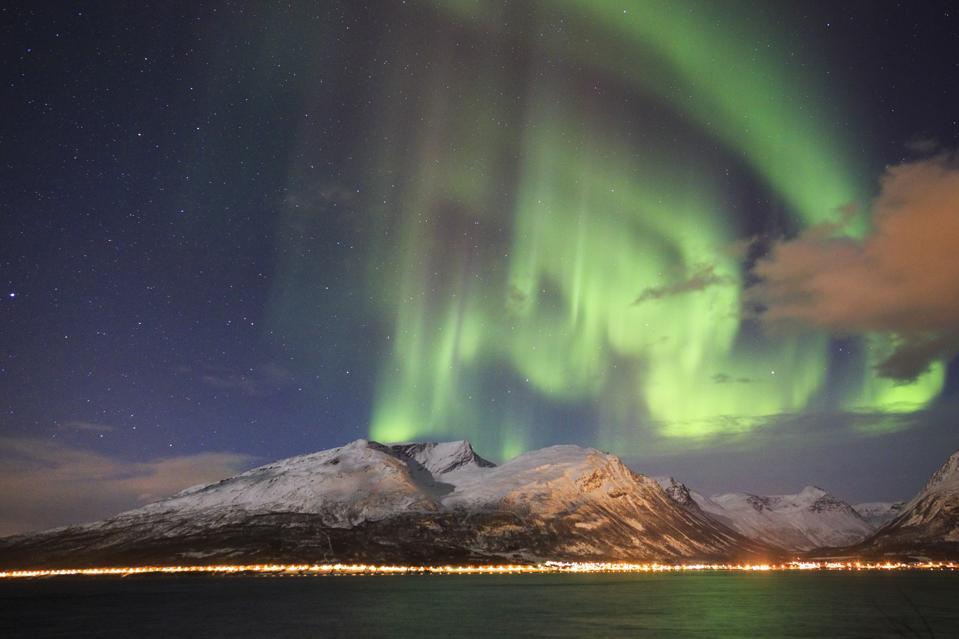 Aurora Borealis Pictured In Lapland, Finland