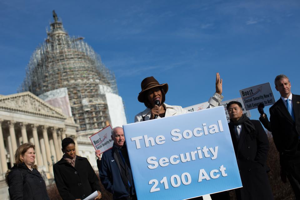 House Democrats Introduce Social Security 2100 Act